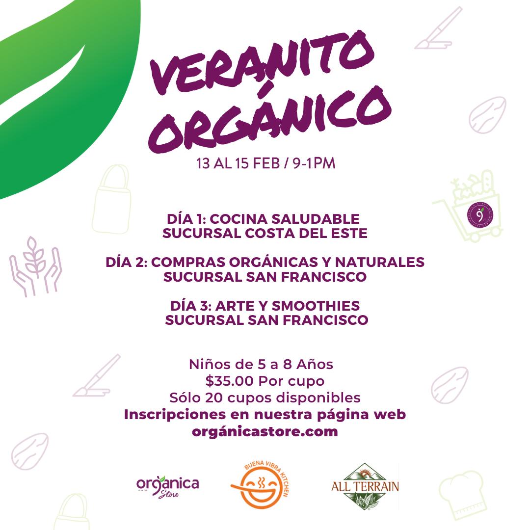 Veranito Orgánico 2020- Organica Store